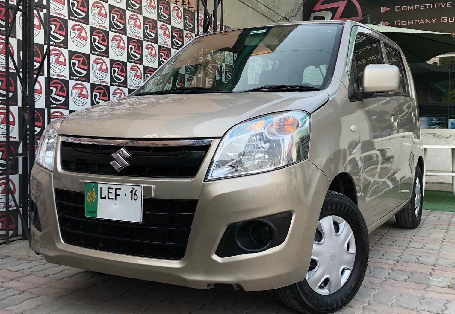 Suzuki Wagon R,Model : 2016, Reg : 2016, Colour : Golden, Millage : 26000 km, 1st owner. | Ridez ...